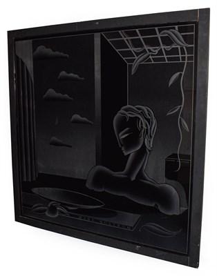Lot 1057 - Sigmund Pollitzer (1913-1982) 'Mare Nostrum' Glass, 120cm by 120cm  Artist's Resale Rights/Droit de