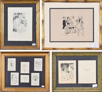 Lot 1060 - After Emilio Grau Sala (1911-1975) Spanish ''Les Saisons'' Set of prints depicting the four seasons