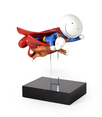 Lot 1066 - Doug Hyde (Contemporary) ''Is it a Bird? Is it a Plane?'' Signed and numbered 45/95, cold cast...
