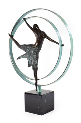 Lot 1068 - Jennie Parker (b.1971) ''Elevation'' Initialled and numbered 194/195, Bronze on a resin base,...