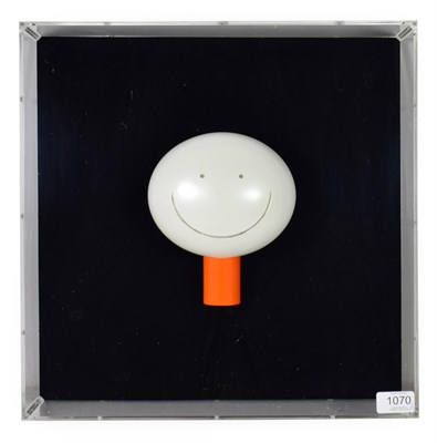 Lot 1070 - Doug Hyde (Contemporary) ''The Smile'' Limited edition, cold cast porcelain contained in a...