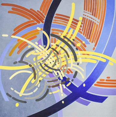Lot 1075 - Gerry Jones (Contemporary) Untitled Signed and dated 2012 verso, acrylic on canvas 90cm by 90cm...