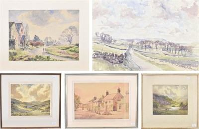 Lot 1091 - Angus Bernard Rands (1922-1985) ''Towards Hawes looking NW'' Signed and inscribed verso...