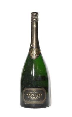 Lot 2000 - Krug 1988 Champagne (one magnum)