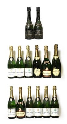 Lot 2014 - Moët & Chandon Brut Champagne (one bottle), Laurent Perrier Cuvee Grand Siecle Champagne (one...