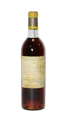 Lot 2019 - Château d'Yquem Lur Saluces 1966 (one bottle)