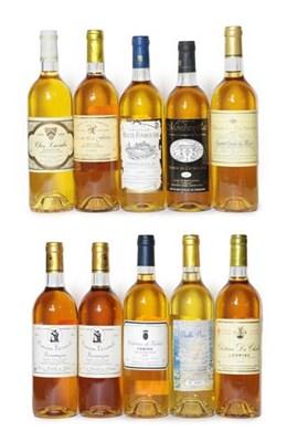 Lot 2023 - Château Du Chalet 1991, Loupiac (one bottle), Clos Lacabe 1999, Jurançon (one bottle),...