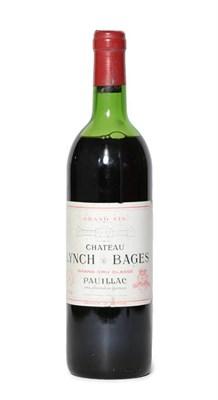 Lot 2027 - Château Lynch Bages, 1979, Pauillac (one bottle)