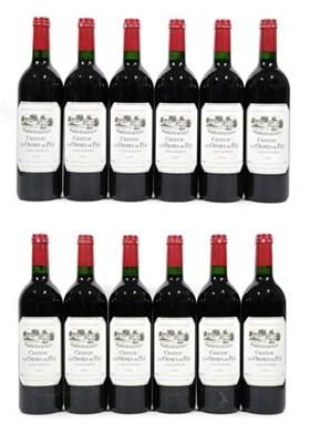 Lot 2030 - Château Les Ormes De Pez, 2000, Saint-Estèphe-Medoc (twelve bottles)