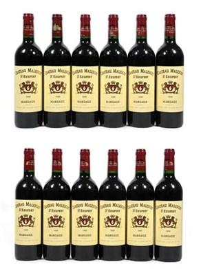 Lot 2031 - Château Malescot 1999, St. Exupery, Margaux (twelve bottles)