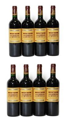Lot 2039 - Croix De Beaucaillou 2006, Saint-Julien (eight bottles)