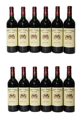 Lot 2042 - Château Malescot 1999, St. Exupery, Margaux (twelve bottles)