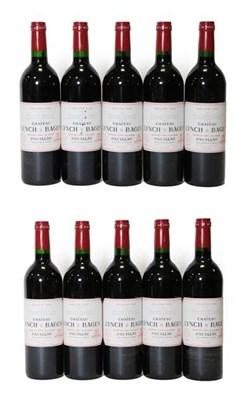 Lot 2045 - Château Lynch Bages 1999 Grand Cru Classé, Pauillac (ten bottles)
