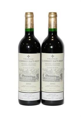 Lot 2051 - Château La Mission Haut-Brion 1995 Pessac-Léognan (two bottles)
