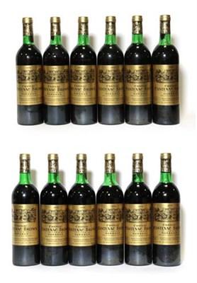 Lot 2053 - Château Cantenac Brown 1978, Margaux (twelve bottles)