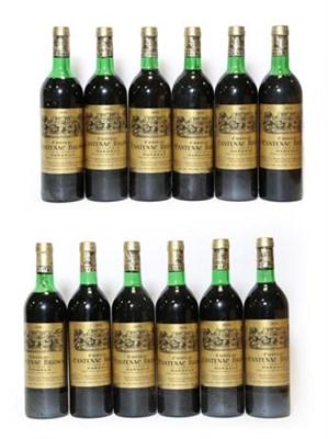 Lot 2054 - Château Cantenac Brown 1978, Margaux (twelve bottles)