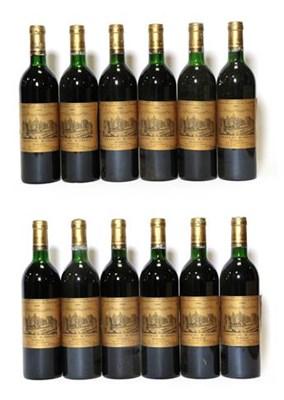 Lot 2055 - Château D'Issan 1985, Margaux (twelve bottles)