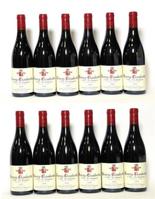 Lot 2065 - Domaine Denis Mortet Les Champeaux, Gevery-Chambertin 2008 1er Cru (twelve bottles)