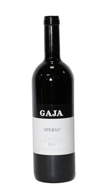 Lot 2067 - Gaja, Sperss 2015 Barolo, Italy (one bottle)