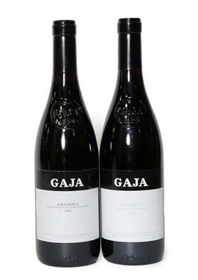 Lot 2070 - Gaja, Barbaresco 2001 and 2015, Barbaresco, Italy (two bottles)