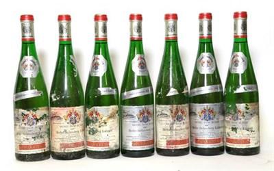 Lot 2074 - Josef Friederich: Various Rieslings comprising the dates: 1987 (seven bottles) 1988 (eight bottles)