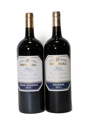 Lot 2084 - Imperial Gran Reserva 2010 and 2011 Rioja (two magnums)