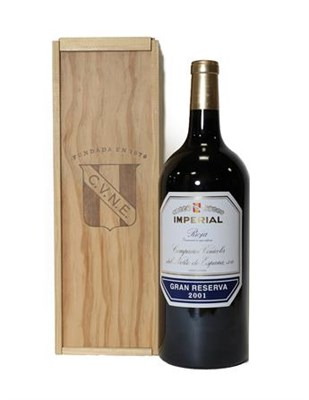 Lot 2085 - Imperial Gran Reserva 2001 Rioja (one double magnum)