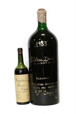 Lot 2093 - 1883 Achaia Clauss Mavrodaphne, Greece, Peloponnese (one bottle), Château Ducla 1983, private...