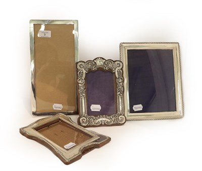 Lot 6 - Four Edward VII and George V Silver-Mounted Photograph-Frames, one by Crisford and Norris Ltd.,...