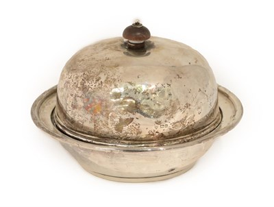 Lot 23 - A George V Silver Muffin Dish, Cover and Liner, by Maxfield and Sons Ltd., Sheffield, 1912,...