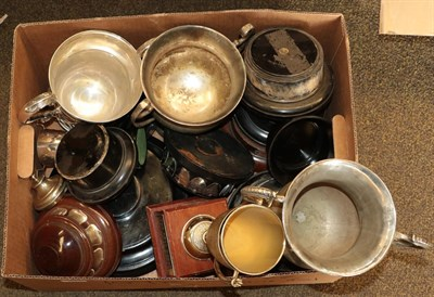 Lot 37 - Collection of Silver Plate Trophy Cups