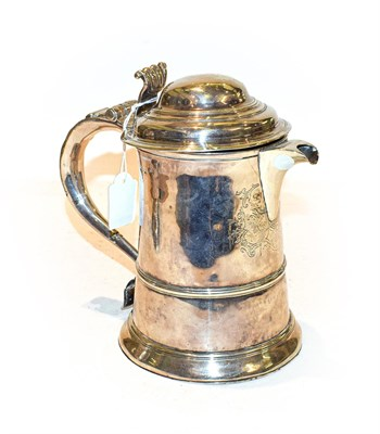 Lot 41 - A Silver Hot-Water Jug, With London Assay Office Mark and Case Number 9397 and Cancelled Marks...