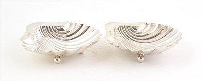Lot 62 - A Pair of Edward VII Silver Butter-Shells, by Henry Atkin Brothers, Sheffield 1907, each...