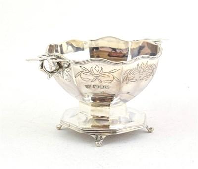 Lot 90 - An Elizabeth II Silver Bowl, by C. J. Vander, London, 1956, tapering octagonal and on...