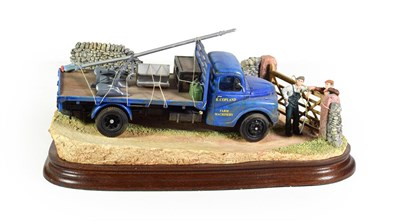 Lot 1 - Border Fine Arts '3 Mile Back Up T'Road', model No. B1001 by Ray Ayres, limited edition 314/500, on