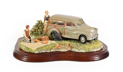 Lot 3 - Border Fine Arts 'A Day in the Country' (Morris 100 Traveller), model No. JH93 by David Walton,...
