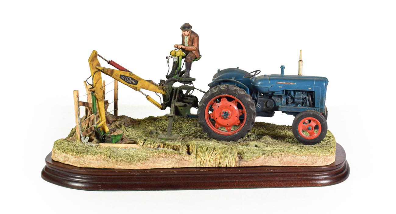 Lot 4 - Border Fine Arts 'A Day's Work Ditching', model No. B0832 by Ray Ayres, limited edition...