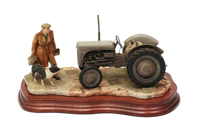 Lot 8 - Border Fine Arts 'An Early Start', model No. B JH91; together with 'Ridging Up Start' (Ford Dexta)