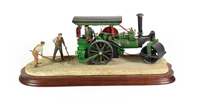 Lot 17 - Border Fine Arts 'Betsy' (Steam Engine), model No. B0663 by Ray Ayres, limited edition 760/1750, on