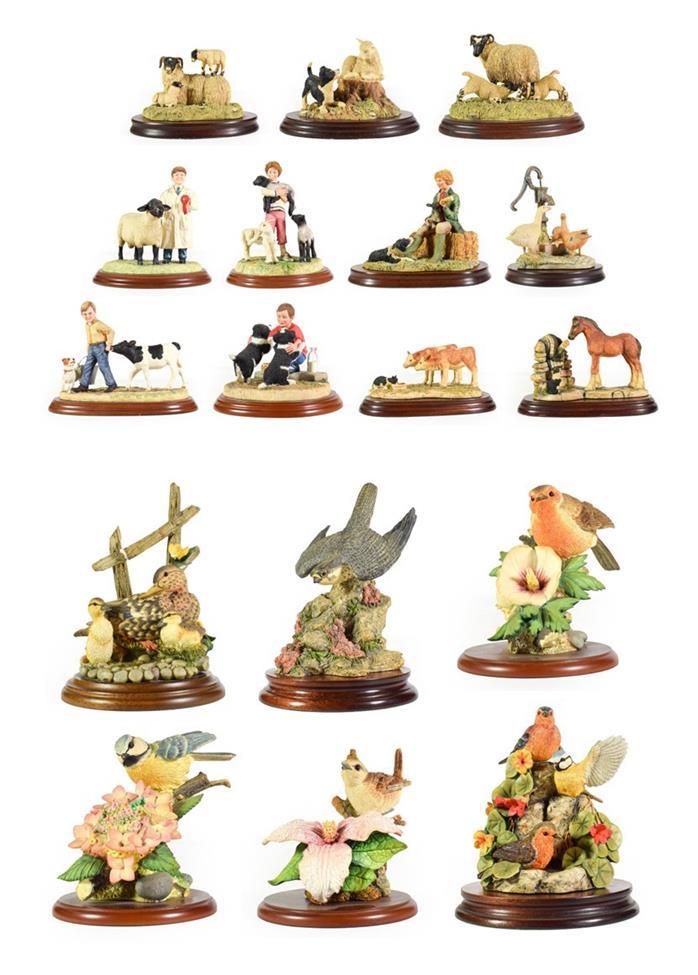 Lot 24 - Border Fine Arts Classic and Studio models Including: 'Leading Hand', model No. B0297, 'Winning...