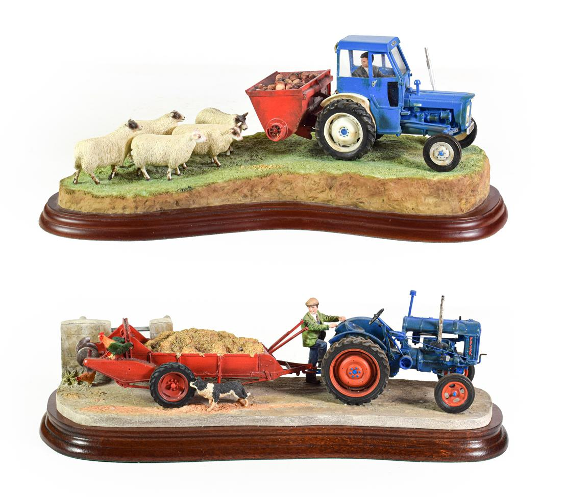 Lot 26 - Border Fine Arts 'Country Air', model No. B1163, limited edition 373/750; together with Studio...