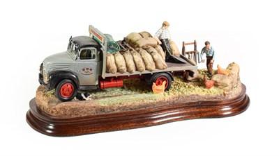 Lot 29 - Border Fine Arts 'Easy Pickings' (D.D Kirkpatrick Corn Exchange Wagon), model No. B1330 by Ray...