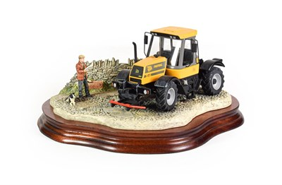Lot 32 - Border Fine Arts 'Frontiers of Farming' (Fastrac JCB), model No. B0273 by Kirsty Armstrong, limited