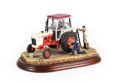 Lot 36 - Border Fine Arts 'Getting Ready For Smithfield', model No. A2143 by Ray Ayres, on wood base,...
