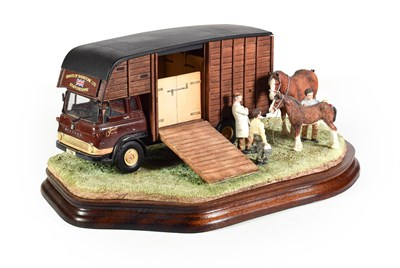 Lot 50 - Border Fine Arts 'Learning the Trade', model No. B1394 by Ray Ayres, limited edition 51/90 in...