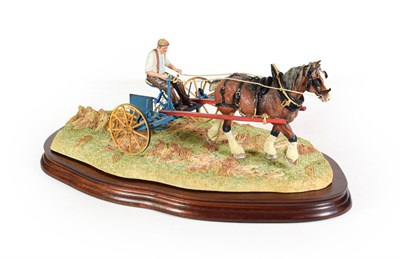 Lot 68 - Border Fine Arts 'Rowing Up' (Standard Edition), model No. B0598 by Ray Ayres, limited edition...