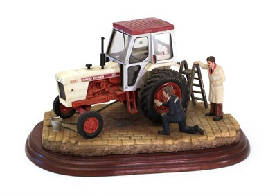 Lot 80 - Border Fine Arts Studio Tractor 'Getting Ready for Smithfield', model No. A2143 by Ray Ayres,...
