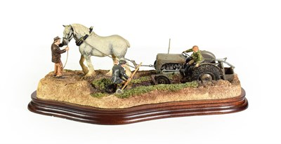 Lot 90 - Border Fine Arts 'The Last Laugh' (Fergie TE20), model No. B0946 by Ray Ayres, limited edition...