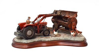 Lot 93 - Border Fine Arts 'Where There's Muck There's Money', model No. B0857 by Ray Ayres, limited...