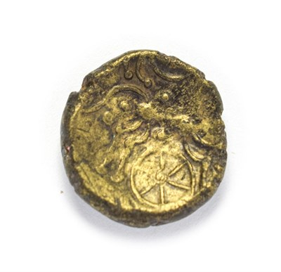 Lot 4002 - Celtic, Early Uninscribed ''Saversnake Forest'' Gold Stater. C. 65 B.C. 3.62g, 16.7mm. Type Mb....
